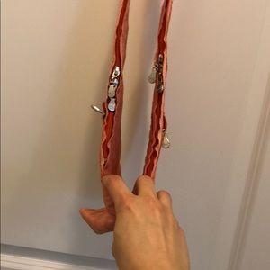 Sash bag Bags - Sash bag brand new tangerine denim stitch purse